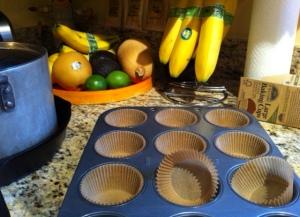empty muffins